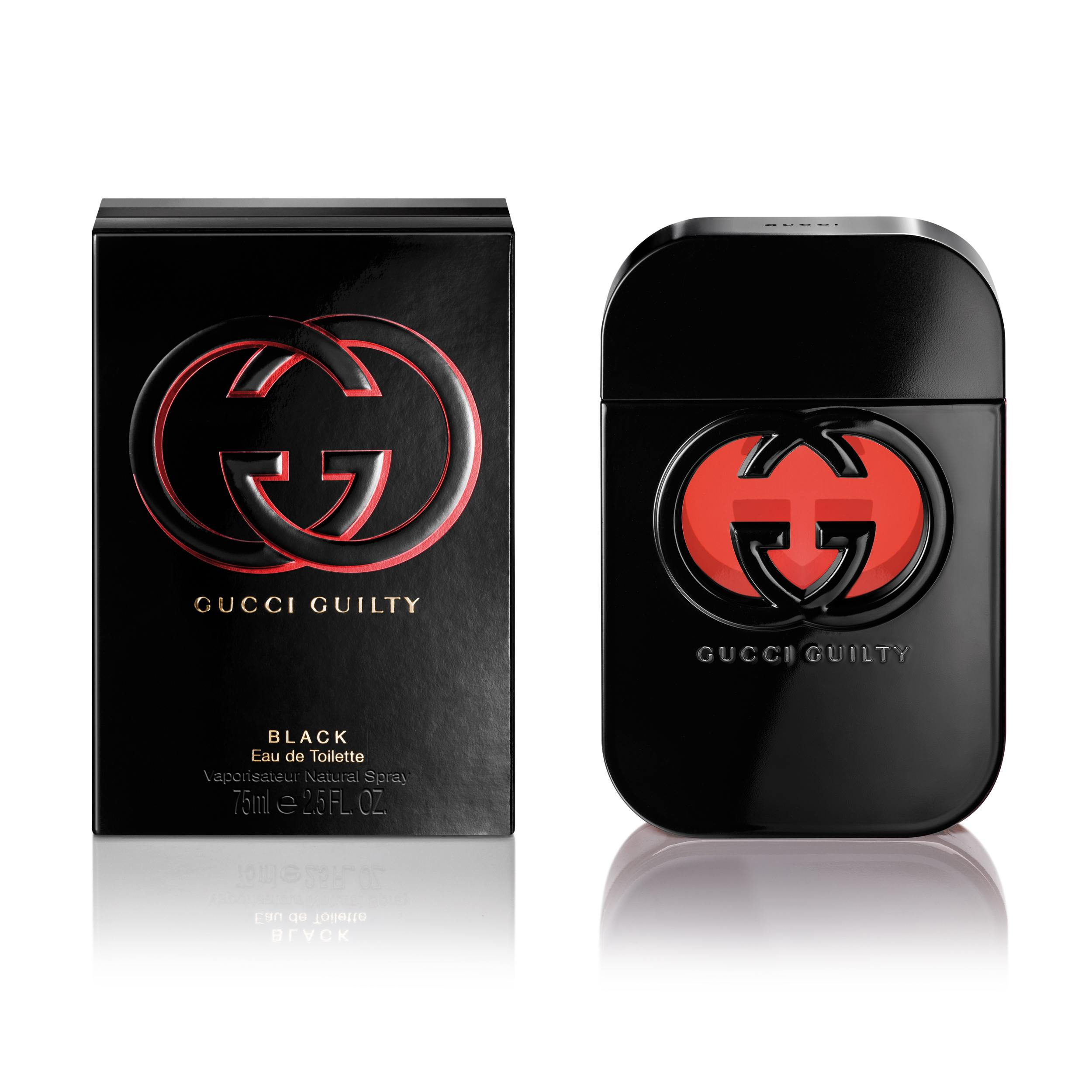 Perfume Mujer Gucci Guilty Black edt 75 ml