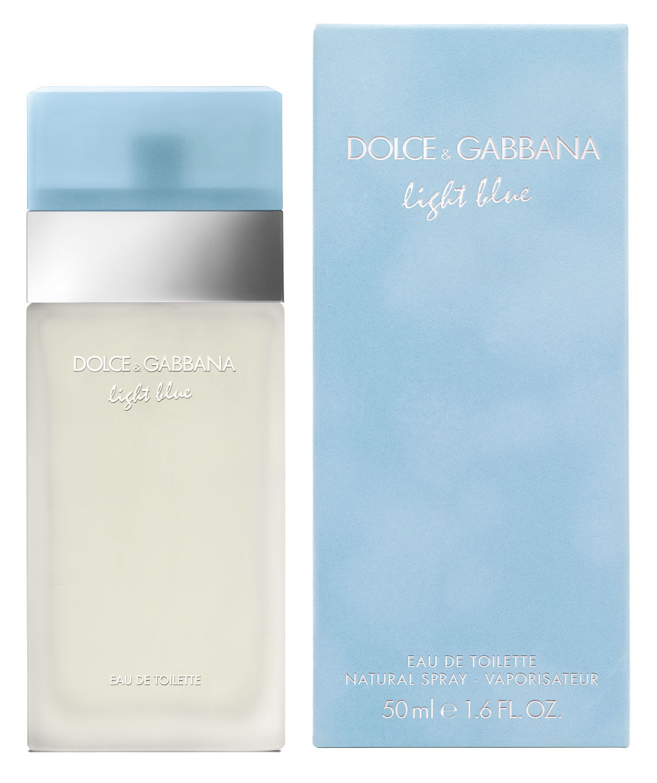 Perfume Mujer Light Blue edt 50 ml