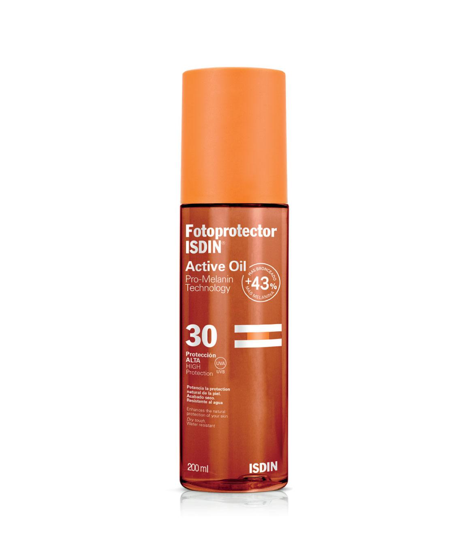 Bloqueador Fotoprotector Isdin Active oil spf 30 200 ml