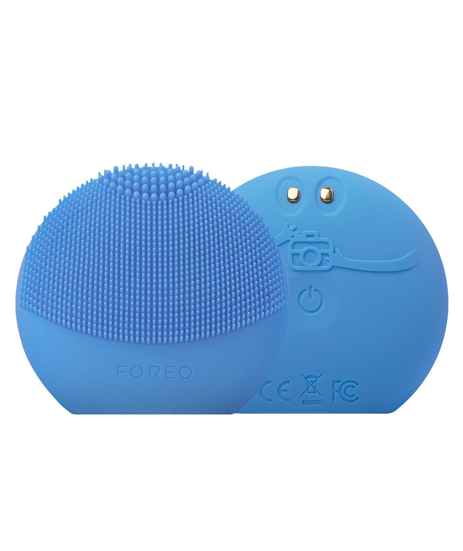 Cepillo Limpieza Facial Luna Fofo Aguamarina Aquamarine