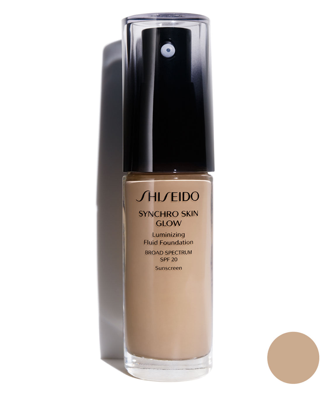 Base Synchro Skin Glow Luminizing Fluid Fundation Neutral 3
