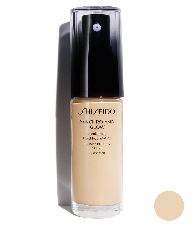 Base Synchro Skin Glow Luminizing Fluid Fundation Golden 2 30 ml