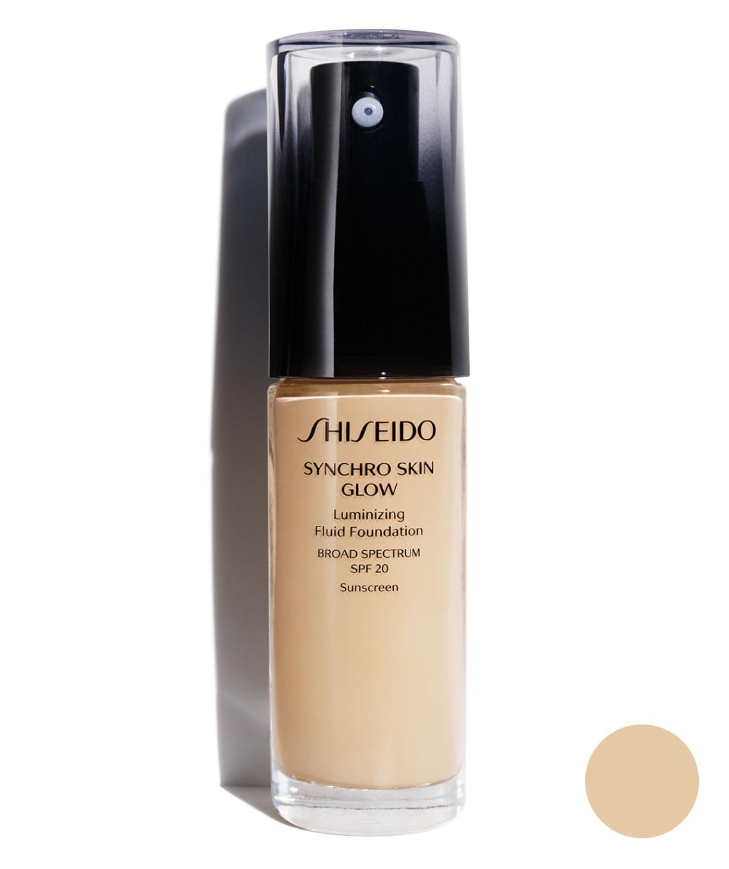 Base Synchro Skin Glow Luminizing Fluid Fundation Golden 3 30 ml
