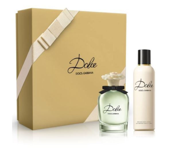 set Perfume Mujer Dolce edp Loción Corporal Miniatura