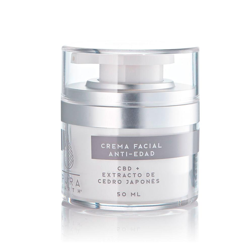 Crema Facial Antiedad con cbd 50 ml