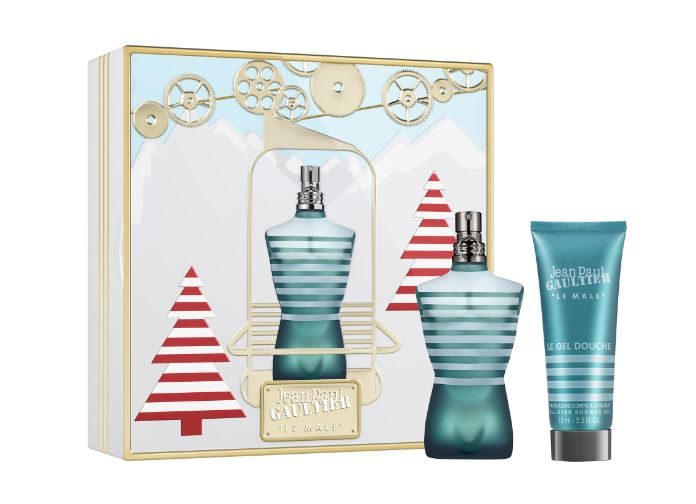 set Perfume le Male men edt gel de Ducha 125 ml