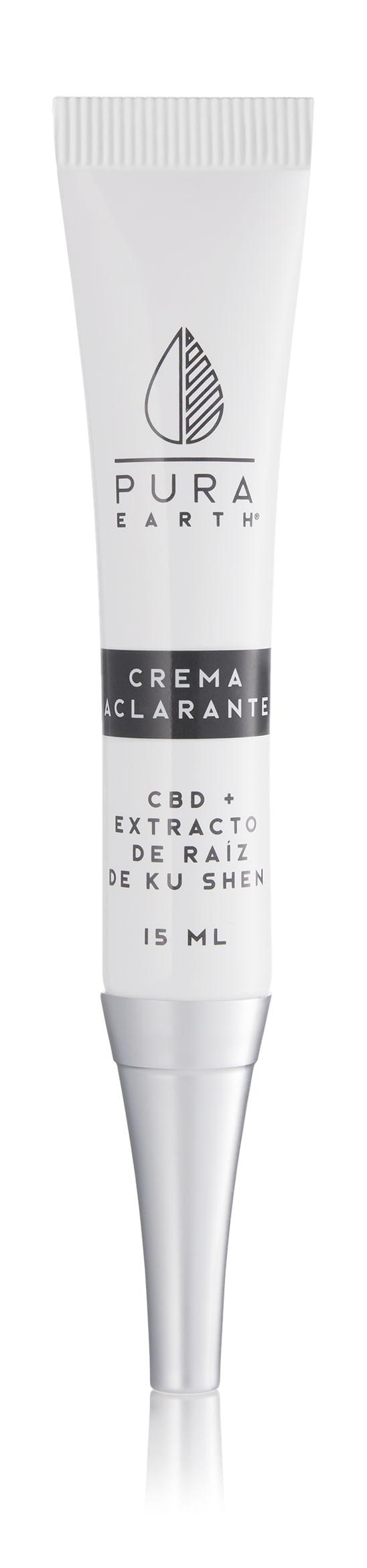 Crema Aclarante con cbd 15 ml
