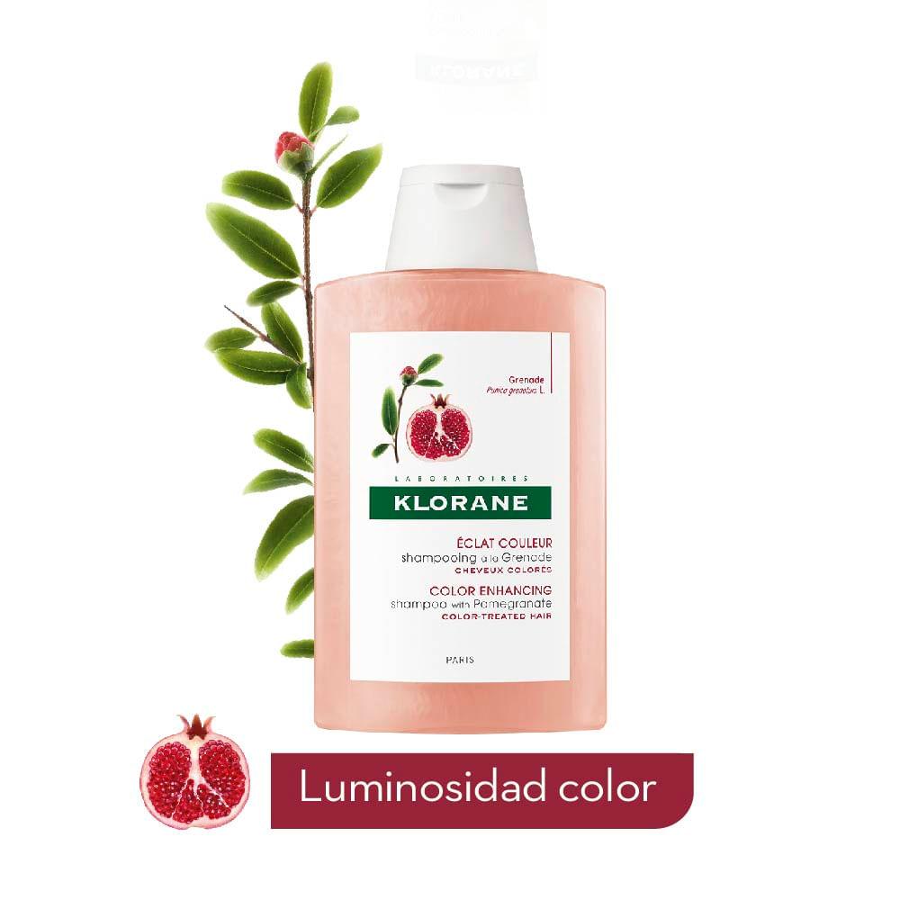 Shampoo Brillo y Color Granada 200 ml
