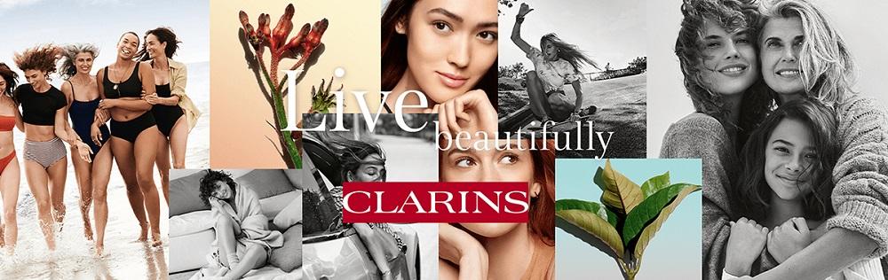Banner Clarins